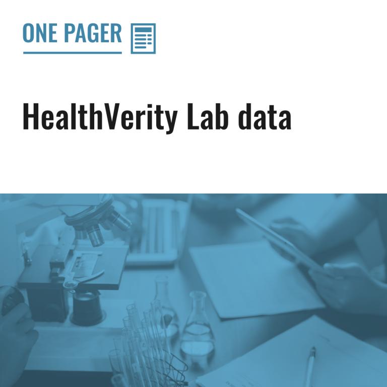 HealthVerity Lab data