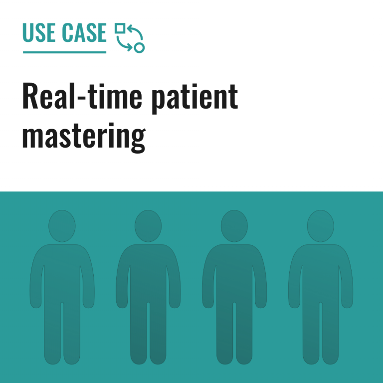 Real-time patient mastering
