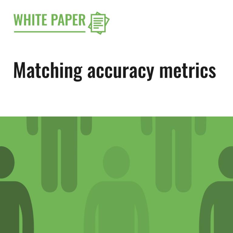 Matching accuracy metrics